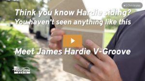 James Hardie Artisan V Groove Siding