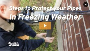 How to Protect Pipes from a Freeze