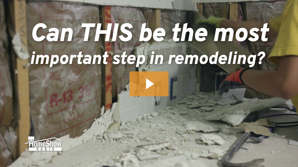 Remodeling Demolition - How its done