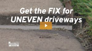 How to Fix Uneven Driveways
