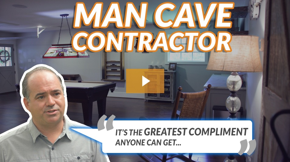 Houston Flooring Contractor Man Cave
