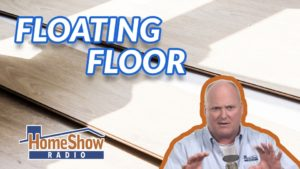 How can we prevent moisture from building under our floating floor