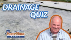 What's the best drainage defense for a block and base foundation?
