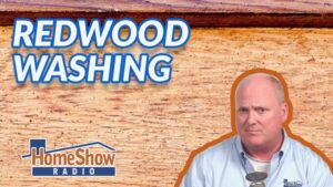What's the right way to wash redwood siding without ruining its look?